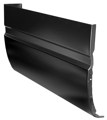 This outer extended cab corner (Super Cab) passenger's side fits 1988-1998 Chevrolet and GMC Pickup Trucks