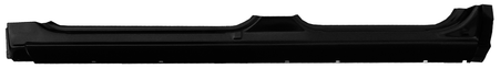 This crew cab rocker panel 4 door, driver's side fits: 2000-2006 Chevrolet Suburban, Tahoe and Avalanche, (must be trimmed to fit, section with 0860-121 for full rocker) 2000-2006 GMC Yukon (must be trimmed to fit, section with 0860-121 for full rocker) 1999-2006 Chevrolet Silverado Crew Cab Pickup and 1999-2006 GMC Sierra Crew Cab Pickup