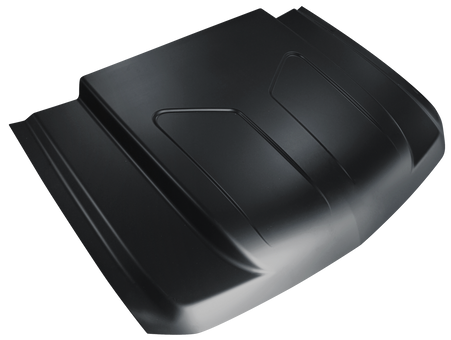 This steel cowl induction hood fits 2007-2011 Chevrolet Silverado Truck