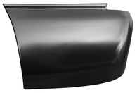 This rear lower bed section (6' bed) driver's side fits:  1999-2006 Chevrolet Silverado and GMC Sierra Standard Cab Pickups, 1999-2006 Chevrolet Silverado and GMC Sierra Extended 3/4 door Cab Pickups, and 1999-2006 Chevrolet Silverado and GMC Sierra Crew Cab Pickups,