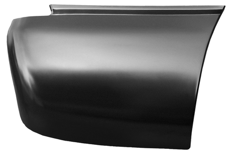 This rear lower bed section (6' bed) passenger's side fits:  1999-2006 Chevrolet Silverado and GMC Sierra Standard Cab Pickups, 1999-2006 Chevrolet Silverado and GMC Sierra Extended 3/4 door Cab Pickups, and 1999-2006 Chevrolet Silverado and GMC Sierra Crew Cab Pickups,