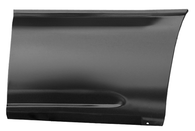This front lower bed section (6' bed) driver's side fits:  1999-2006 Chevrolet Silverado and GMC Sierra Standard Cab Pickups,  1999-2006 Chevrolet Silverado and GMC Sierra Extended 3/4 door Cab Pickup, and  1999-2006 Chevrolet Silverado and GMC Sierra Crew Cab Pickups