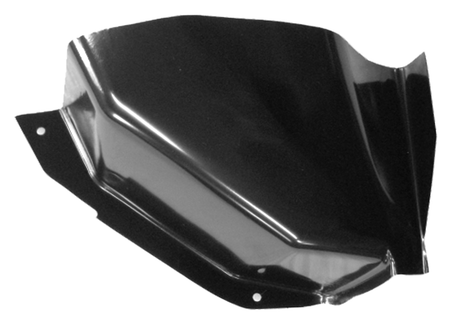 This air vent cowl lower section, driver's side fits 1973-1987 Chevrolet and GMC Pickup Trucks, and 1973-1991 Chevrolet Blazers and Suburbans