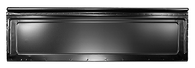 This front bed panel fits 1973-1987 Chevrolet and GMC fleetside Pickup Trucks with steel bed floors.
