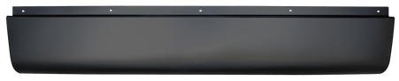 This rear roll pan without license plate fits 1999-2006 Chevrolet Silverado and GMC Sierra