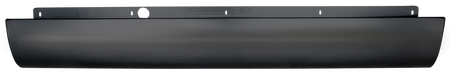 This rear roll pan without license plate fits 2004-2011 Chevrolet Colorado