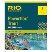 Rio Powerflex Trout Leaders - 3 Pack