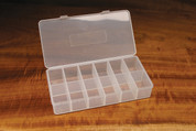 12 Compartment Drilled Dubbing Box