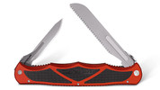 Havalon Hydra-Red Double-Bladed Hunting Knife