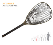 Fishpond Nomad Mid-Length Net - River Armor