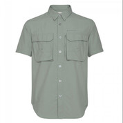 Redington Gasparilla Shirt SS - Gray Gull - Medium
