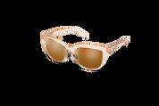 Crystal Peach/Polarized Brown