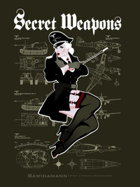 SECRET WEAPONS PINUP GIRL