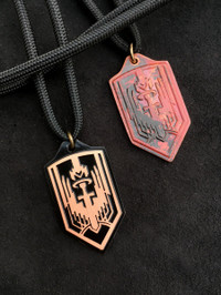 ARCHANGEL MICHAEL COPPER PROTECTION PENDANT