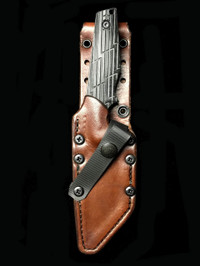 CHATTANOOGA CUSTOM GUNNR LEATHER SCABBARD