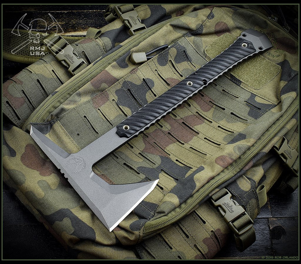 Exclusive Dvalinn an RMJ Tactical and Bawidaman Blades Collab