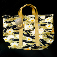 ALOHA NOW TIGER STRIPE RANGE/BEACH TOTE BAG
