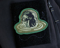 THE ERRAND BOY LTD EDITION GREEN  FACE EMBROIDERED PATCH