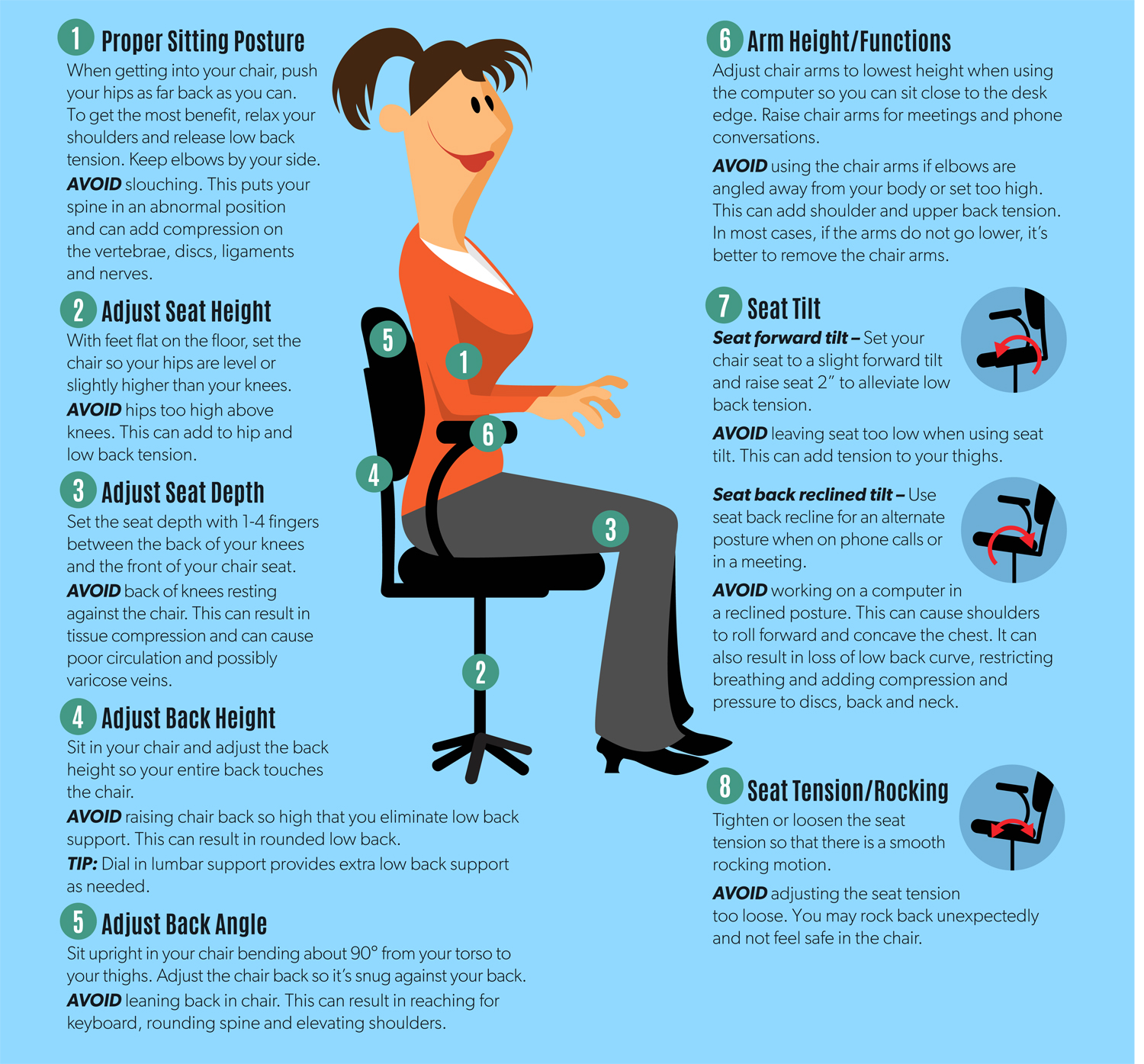 How To Adjust An Ergonomic Chair