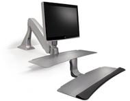 Sit Stand Unit, Single Monitors