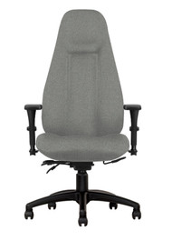 Ultra Executive Ergonomic Chair, Lumbar Supports, Seat Depth, 4 Way Adjust Arms, 325 lbs