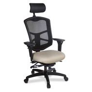 Mesh High Back Office Chair ,Headrest, Ergo Controls