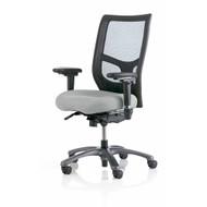 Mesh High Back Task Chair, Seat Depth