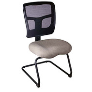 Mesh Mid Back Guest Chair Sled Base