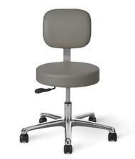 "All Purpose Stool"""" Desk Height"""" Adjustable Back"""" 16 - 21"" Seat Height"