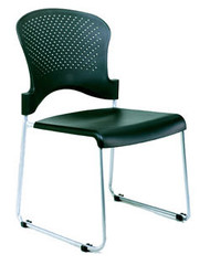 Economy  Guest Stacking Chair,Plastic Seat,Sled Base ,Stacks 6, no arms See upgrade