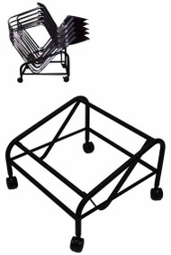 Storage Dolly For #768S, 768PS, Stack 15 upholstered, 30 plastic chairs