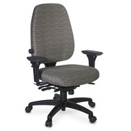 Officer's High Back Ergonomic Office Chair, 300 lbs