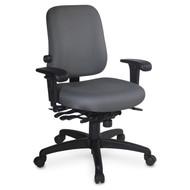 ESD High Back Task Chair, Lumbar Seat Depth Adjust