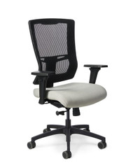 Mesh Back Chair, Manager, Conference, Rocking, Simple Function Controls, No Arms