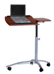 Mobile Laptop Cart Medium Cherry