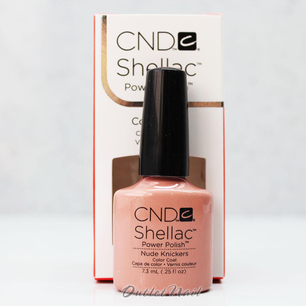 Shellac Nudes : CND Shellac Naked Naivete (7.3ml)