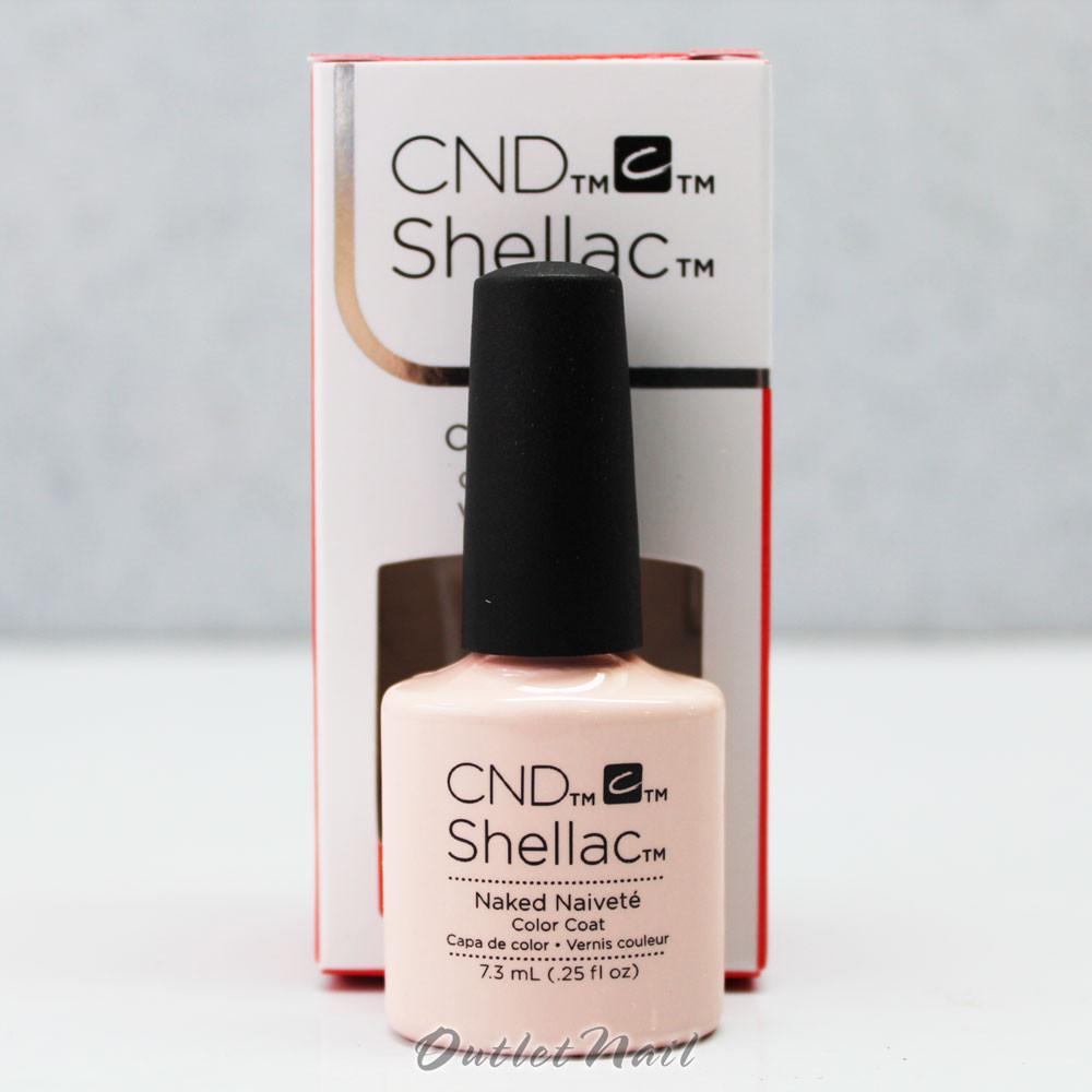 CND - Shellac UV Gel Color - Naked Naivete - 7.3ml
