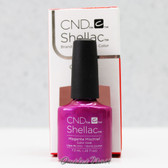 CND Shellac UV Gel Polish - MAGENTA MISCHIEF 91169 7.3ml 0.25oz Art Vandal Spring Color 2016 Collection