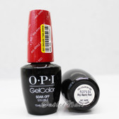 OPI GelColor BIG APPLE RED GC N25 15ml 0.5oz UV LED Gel Polish