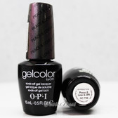 OPI GelColor PEACE & LOVE & OPI  GC F56 15ml 0.5oz Soak Off UV LED Gel Nail Polish #GCF56