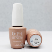 OPI GelColor PUT IT IN NEUTRAL  GC T65 15ml 0.5oz SoftShades Collection UV LED Gel Nail Polish #GCT65