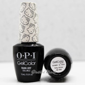 OPI GelColor KITTY WHITE  GC H80 15ml 0.5oz Hello Kitty Collection UV LED Gel Nail Polish #GCH80