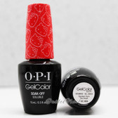 OPI GelColor SPOKEN FROM THE HEART  GC H85 15ml 0.5oz Hello Kitty Collection UV LED Gel Nail Polish #GCH85