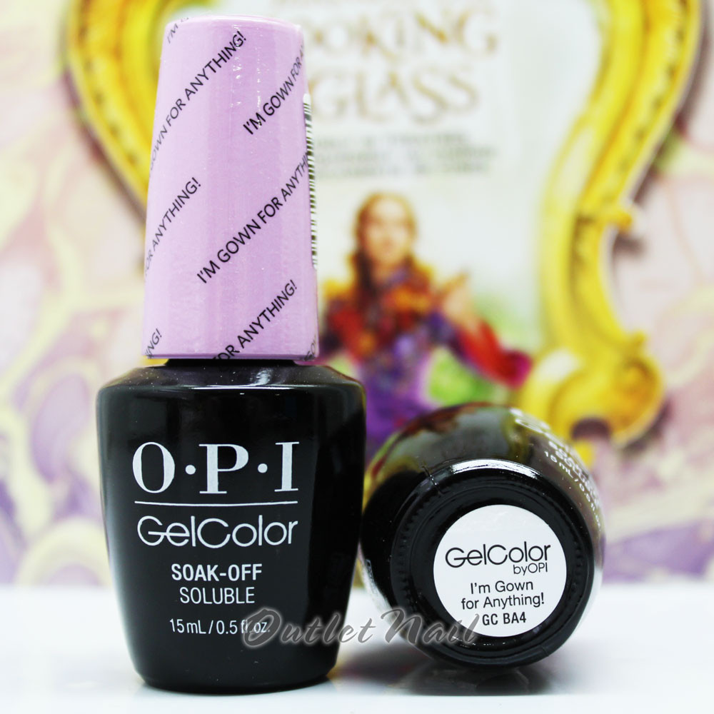 Opi Gelcolor Im Gown For Anything Gc Ba4 15ml 05oz Alice