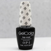 OPI GelColor TOP COAT  GC 030 15ml 0.5oz Soak Off UV LED Gel Nail Polish #GC030