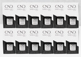 CND Shellac UV Gel Polish - SET OF 12 * BASE COAT 7.3ml 0.25oz Collection 40400 WHOLESALE BULK PACK
