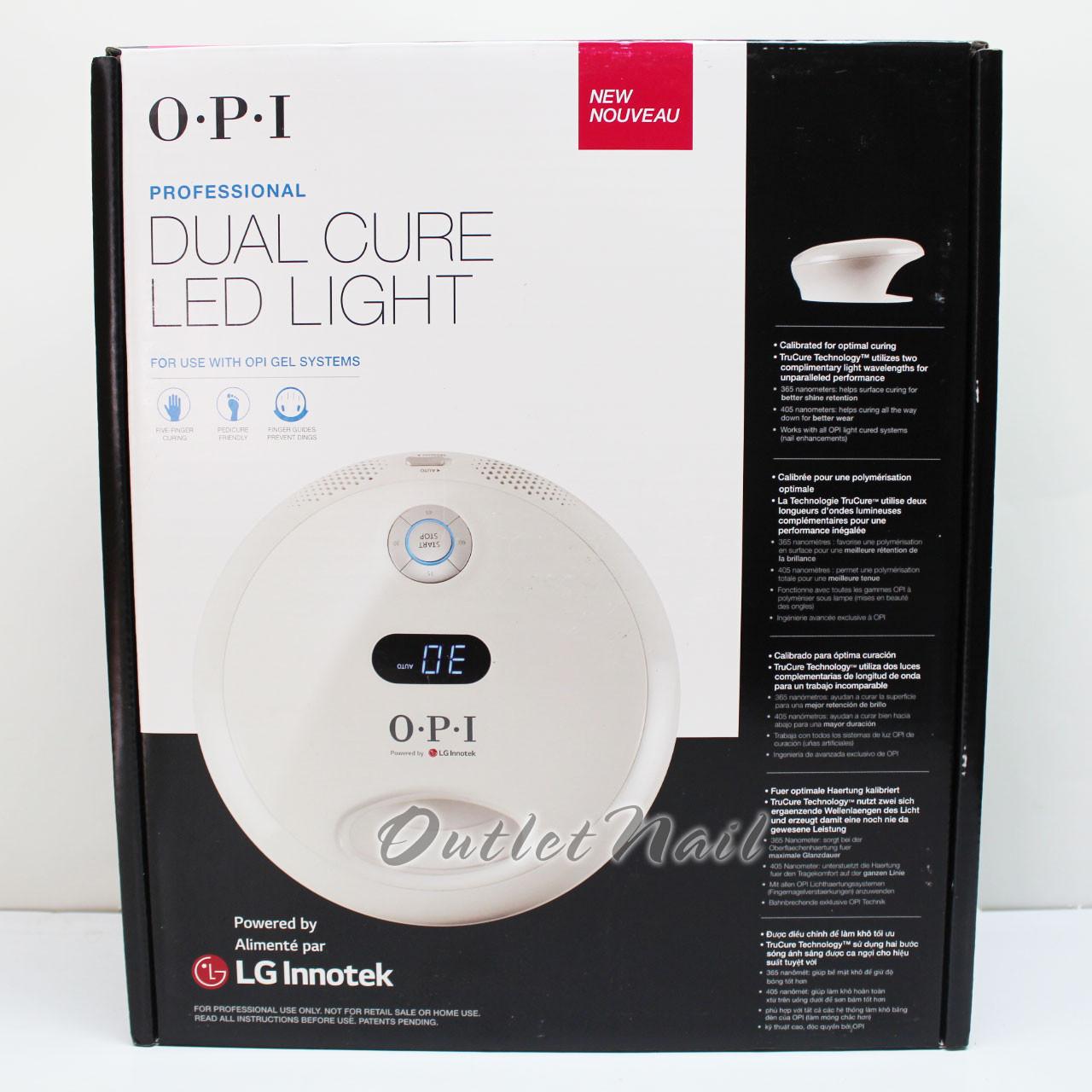 Newest Model Gl 902 2018 Opi Led Light Dual Cure Lamp Gelcolor Gel