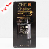CND Shellac UV Gel Polish XPRESS5 TOP COAT 15 ml 0.5oz Express 5 Collection 90929