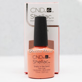CND Shellac UV Gel Polish SHELLS IN THE SAND 91588 7.3ml 0.25oz Rhythm & Heat Color Summer Collection 2017