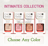 CND Shellac Gel Polish INTIMATES Collection 0.25oz 7.3ml - Pick Any Color